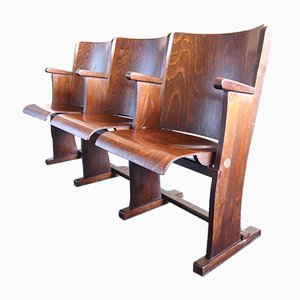 Cinema Benches from TON, 1950s, Set of 2