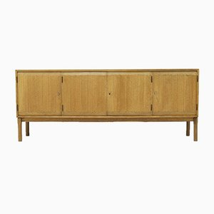 Solid Oak Sideboard by Kurt Østervig for Vamo Sonderberg, 1960s