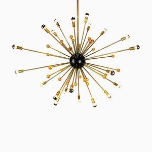 Vintage Sputnik Deckenlampe im Stilevon Stilnovo, 1950er