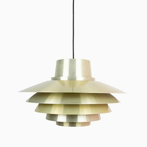 Lampe à Suspension Verona Vintage par Svend Middelboe pour Nordisk Solar, Danemark, 1960s