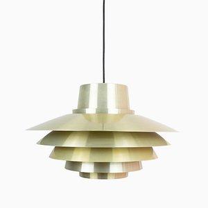 Vintage Danish Verona Pendant Lamp by Svend Middelboe for Nordisk Solar, 1960s