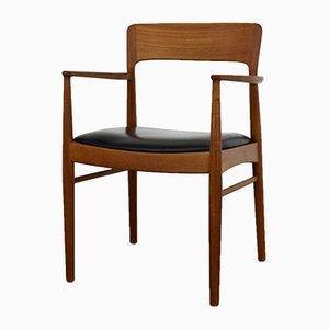 Vintage Teak Armchair by Henning Kjærnulf for Korup Stolefabrik, 1960s
