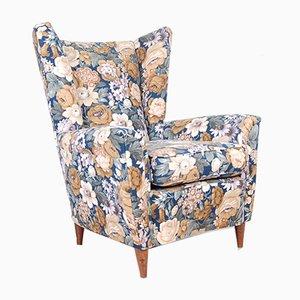 Florale Vintage Sessel von ISA, 1950er, 2er Set
