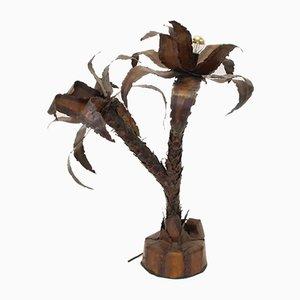 Lampada a forma di palma, anni '70