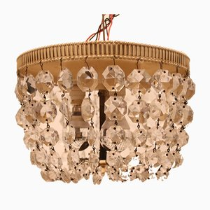 Vintage Crystal Ceiling Lamp