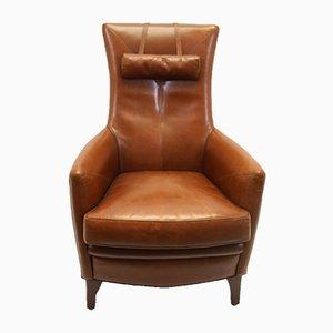 Dutch Sheep Leather Armchair