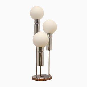 Lampada da tavolo vintage sferica di Solken Leuchten, anni '60