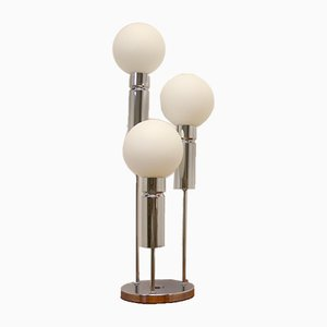 Lámpara de mesa vintage esférica de Solken Leuchten, años 60