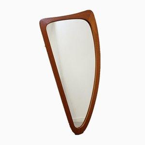 Teak Model Harp or Organic Mirror, 1960s