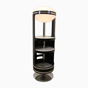 Bar Swivel Top Table Lamp with ABS by Joe Colombo, 1960s