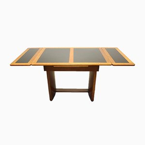 Art Deco Amsterdam School Extendable Table