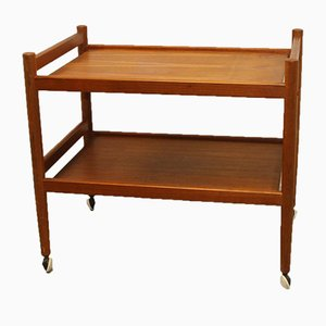 Scandinavian Teak Trolley