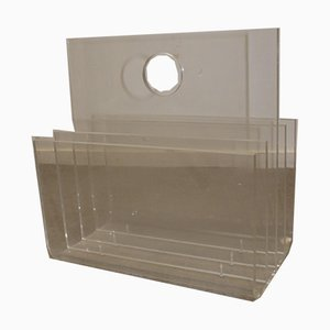 Plexiglass Magazine Rack