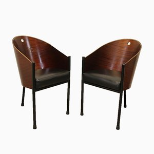 Costes Armchairs by Philippe Starck, Set of 2