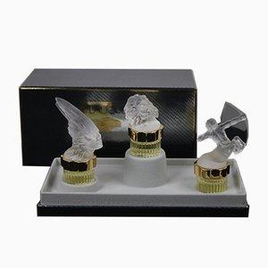 Miniature Les Flacons Kollektion von René Lalique, 1990er