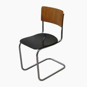 Chaise de Bureau avec Structure Tubulaire en Chrome de Auping