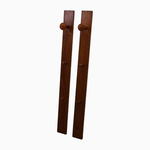 Danish Wall Coat Racks by Aksel Kjersgaard, Set of 2