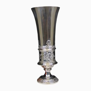 Große Silberne Tasse von Joseph Carl Klinkosch, Wien, 1860er