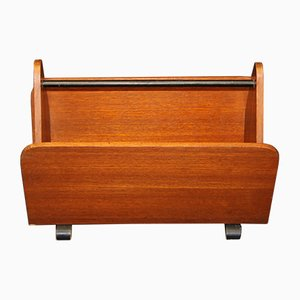 Danish Teak Storage Rack, 1960s