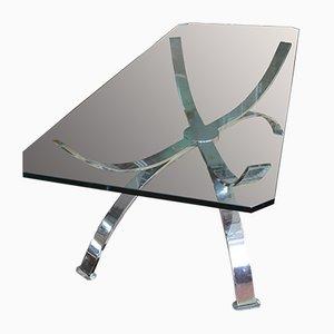 Table Basse Space Age en Chrome, 1960s