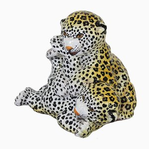 Italienische Tiger Cubs aus Keramik