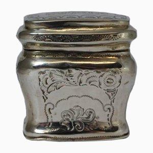 Antique Silver Loderein Box