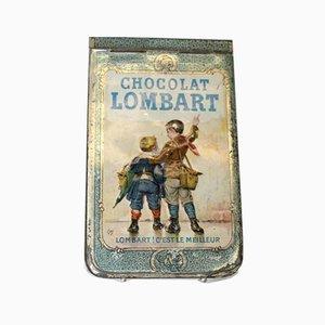 Zinn Notizbuch von Chocolat Lombart