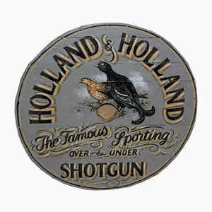 Plate from Holland & Holland Gunmakers