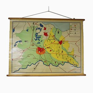 Carte d'École Vintage d'Utrecht
