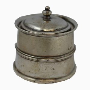 Antique English Silver Inkwell