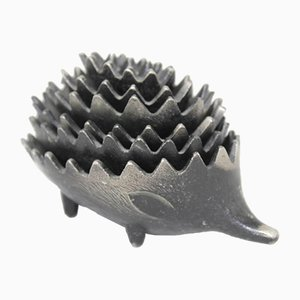 Hedgehog Ashtray Set by Walter Bosse for Hertha Baller, Set of 7