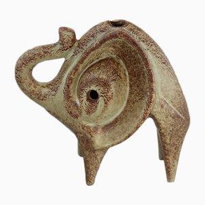 Elefantenskulptur aus Keramik von Bertoncello