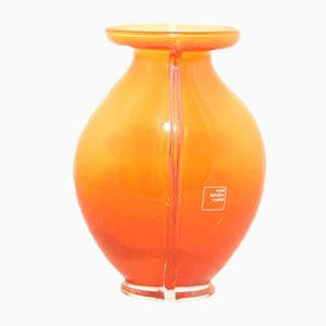 Orange No 106 King Willem-Alexander Vase from Royal Leerdam