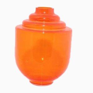 Orange Princess No 1200 Vase from Royal Leerdam