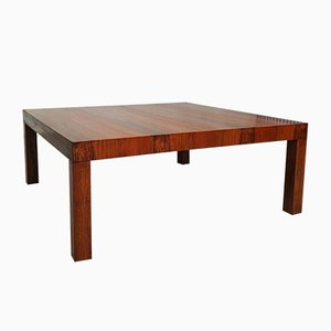 Large Mid-Century Danish Rosewood Coffee Table from Skovby