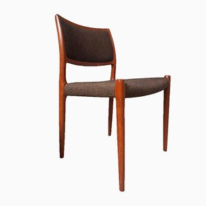 Mid-Century Danish Teak Dining Chairs by Niels Otto Moller For J.L.Mollers, Set of 4