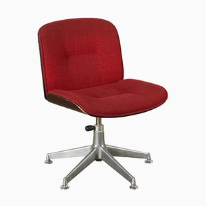 Vintage Italian Office Swivel Chair by Ico Parisi for MIM, 1970s