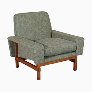 Italienischer Sessel aus Teak & Schaumstoff, 1960er