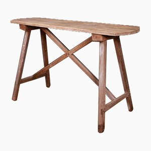 French Trestle Table, 1860s