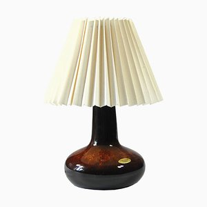 Danish Table Lamp from Frank Keramik, 1960s