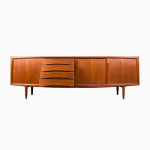 Mid-Century Danish Teak Sideboard by Gunni Omman for Axel Christensen, 1960s