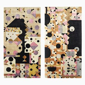 Pink Dreams Rugs by Kostas Neofitidis for KOTA Collections, 2013, Set of 2