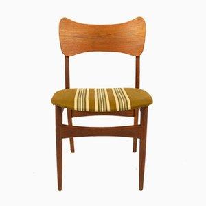 Dänische Vintage Esszimmerstühle, 1960er, 4er Set