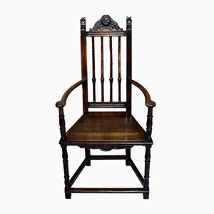 Victorian Spindle Back Armchair