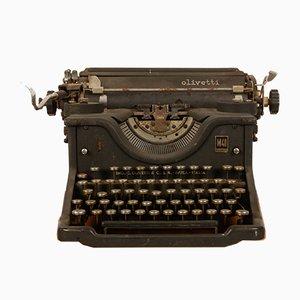 Macchina da scrivere M40 vintage di Olivetti, anni '40