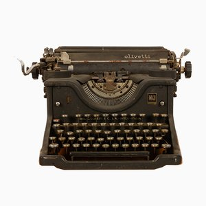 Vintage Model M40 Typewriter from Olivetti, 1940s