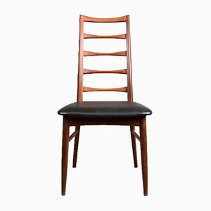 Danish Teak Model Liz Side Chairs by Niels Koefoed for Koefoeds Hornslet, 1960s, Set of 2