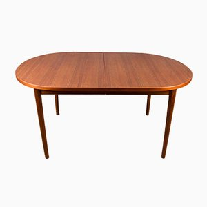 Large Swedish Oval Dining Table by Nils Jonsson for Hugo Troeds, 1960s
