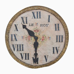 Large Decorative Lacquered Clock