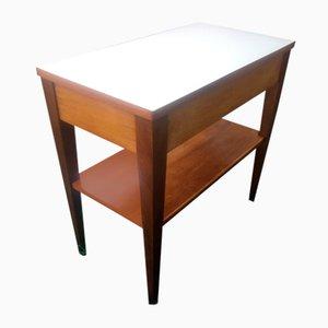 Table Basse Mid-Century avec Tiroir